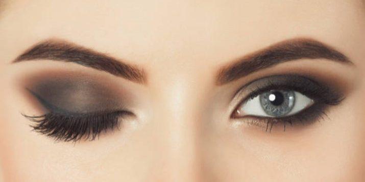 beautiful woman eyebrows